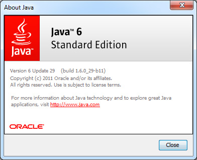 Free download Java 6 Update 29 | JRE6 u29